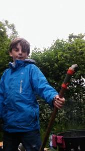 Thomas and Journey stick